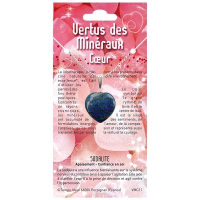 VMC - Coeur Minéraux - Pendentifs