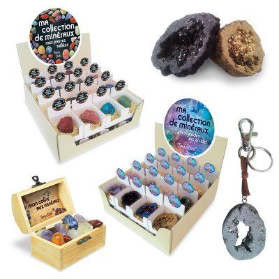Ma collection de minéraux