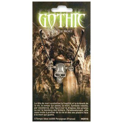 MOR - Gothic tête de mort