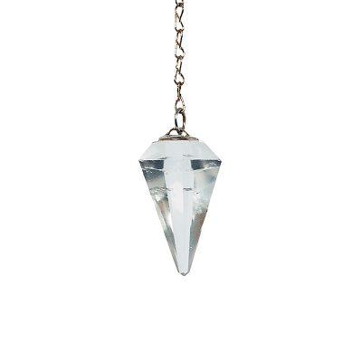 pendule_cone_facette_cristal_de_roche_9g