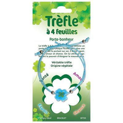 Trèfle à 4 feuilles - Bracelets couleur