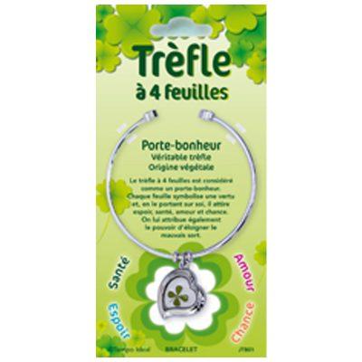 JTB - Trèfle à 4 feuilles - Bracelets jonc