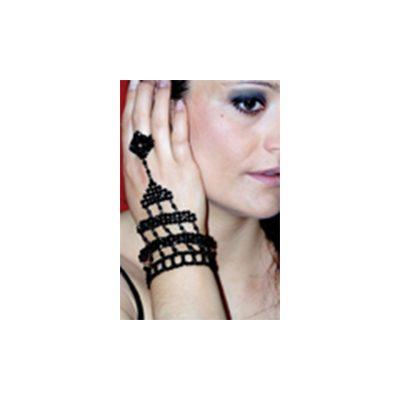 Bracelets d'esclave en perles de verre