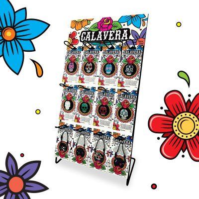 presentoir calavera