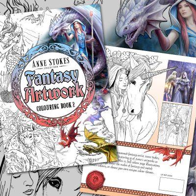 Livres de coloriage by Anne Stokes